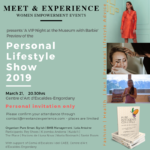 VIP Preview of the Personal Lifestyle Show